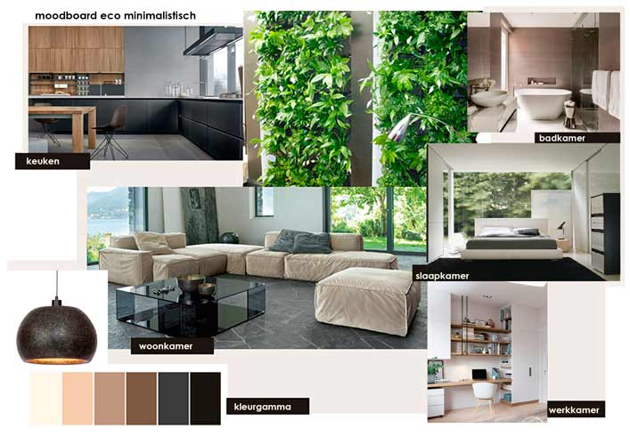 1. Moodboard appartement